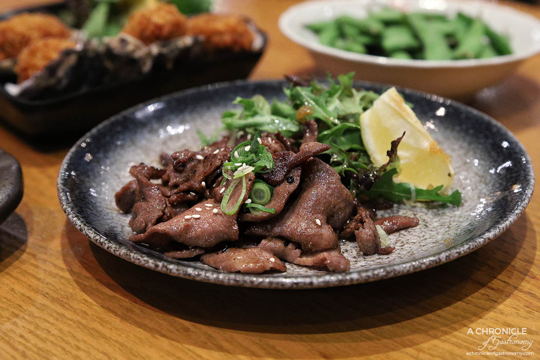 Matsumoto - Gyutan - Grilled ox tongue ($14)