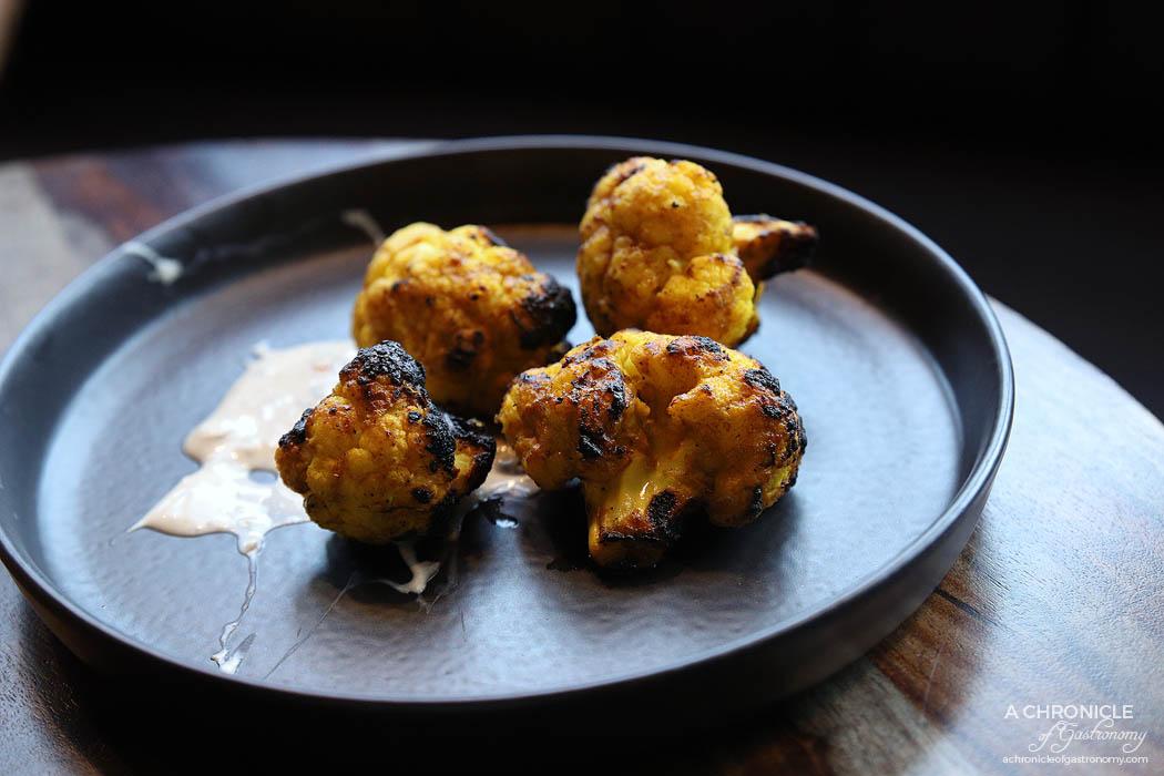 Ish - Tandoori cauliflower, turmeric and cumin ($12)