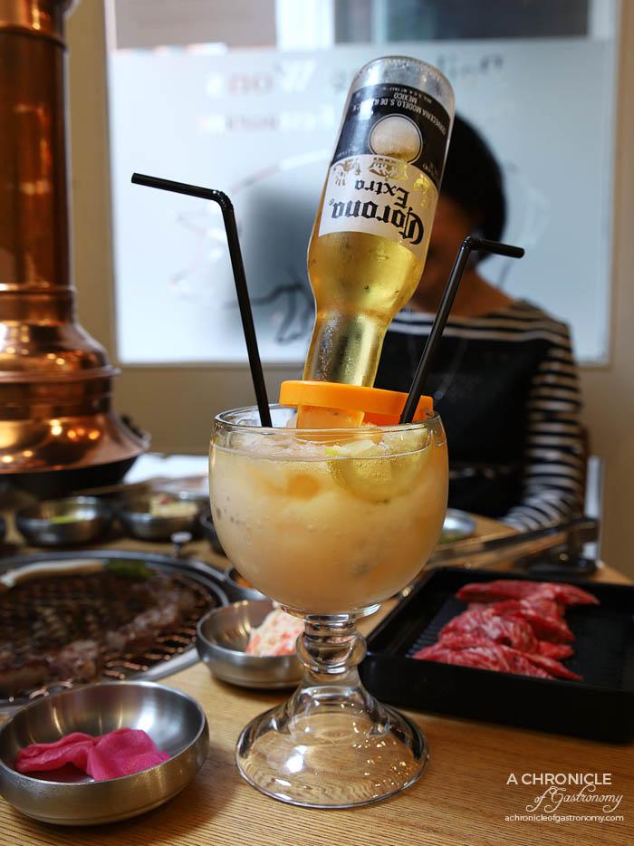Paik's BBQ - Beer Rita ($15)