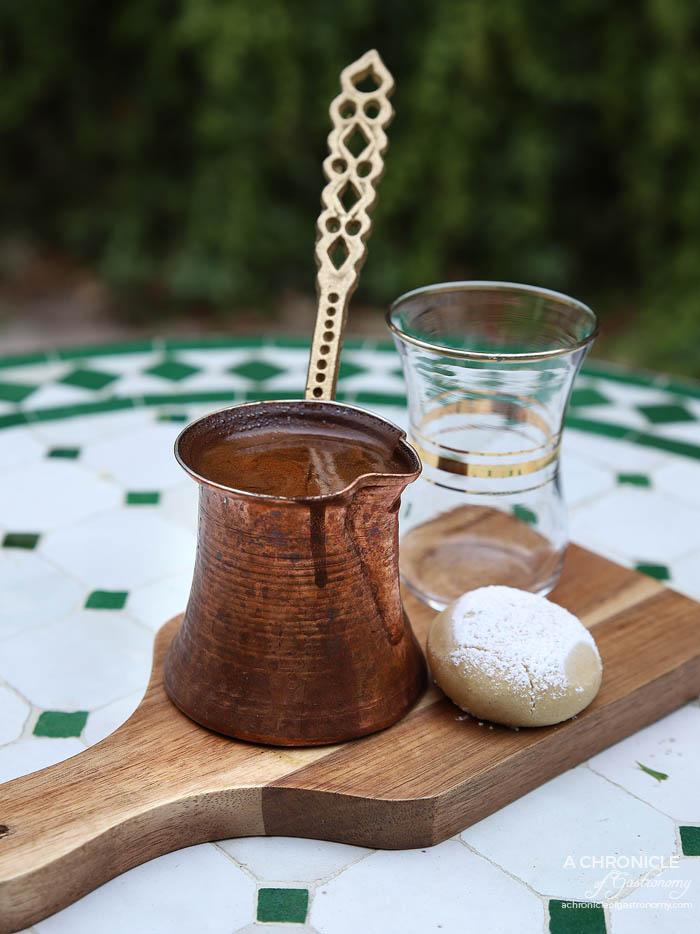 New Jaffa - Turkish coffee ($4)