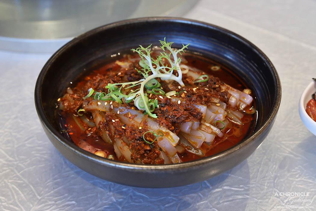 Sun Kitchen - Hot and sour mung bean noodle
