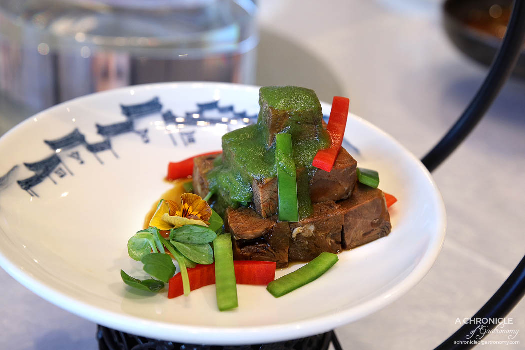 Sun Kitchen - Braised beef tendon w chilli sauce