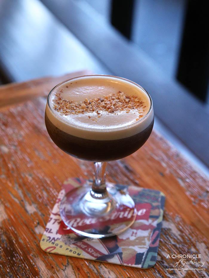 Queen Vee's - Baked Coconut Espresso Martini - Vodka, roasted coconut & coffee ($18)