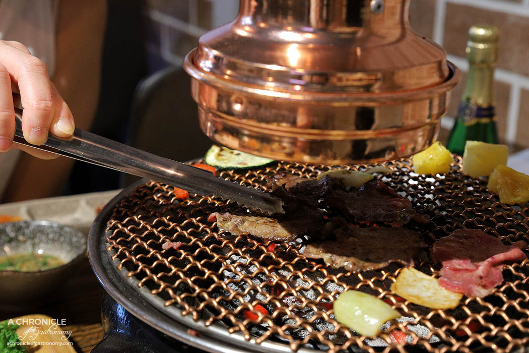 Dancing Flame Charcoal Grill