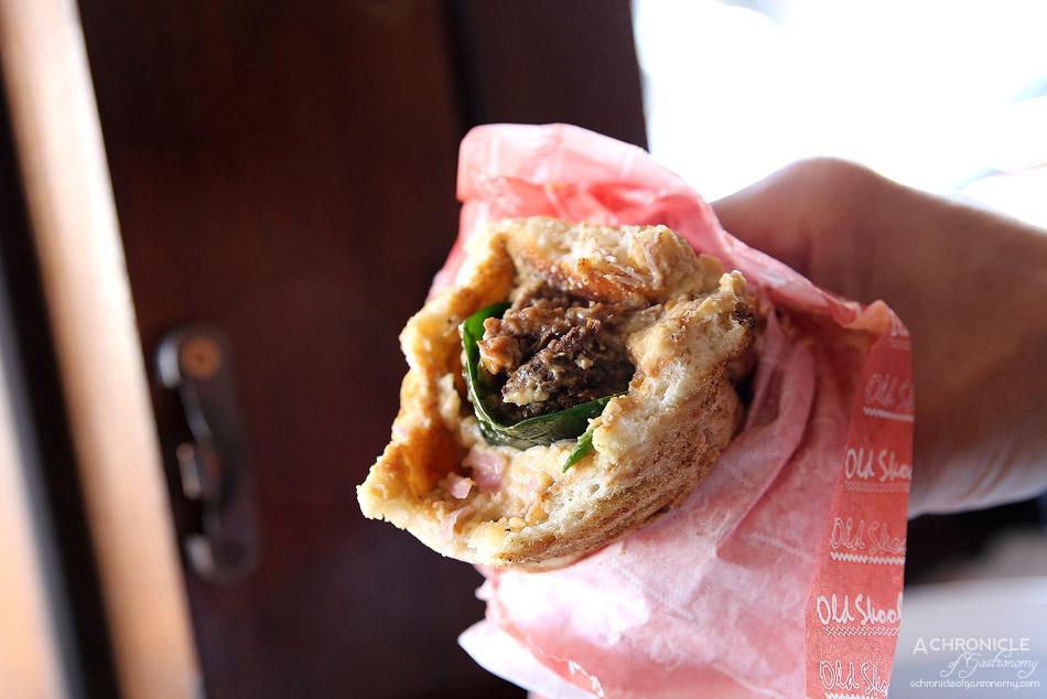 Biggie Smalls (11) A-Rab - Lamb kebab with smoked hummus, pickled onion, hersb, leaves, garlic yoghurt ($14.50)