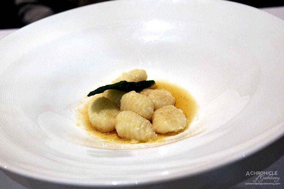 The Grand Richmond - Gnocchi burro e salvi - Gnocchi with brown butter, sage and parmesan