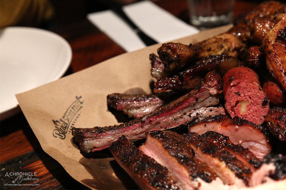 Bluebonnet Barbecue - Crispy lamb ribs