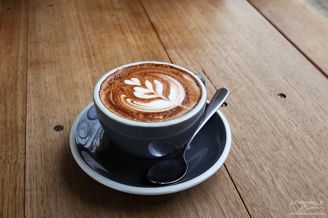 Tall Timber - All Press cappuccino ($4)
