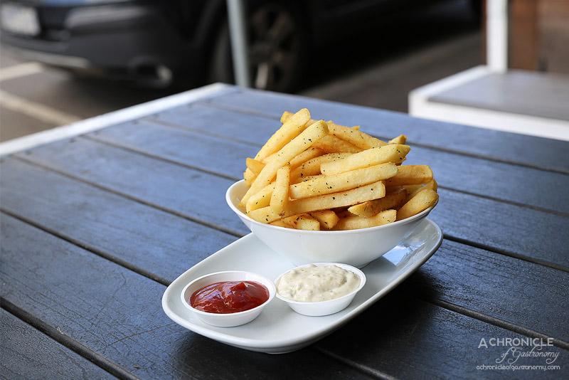Tank Fish and Chips - Seasoned chips
