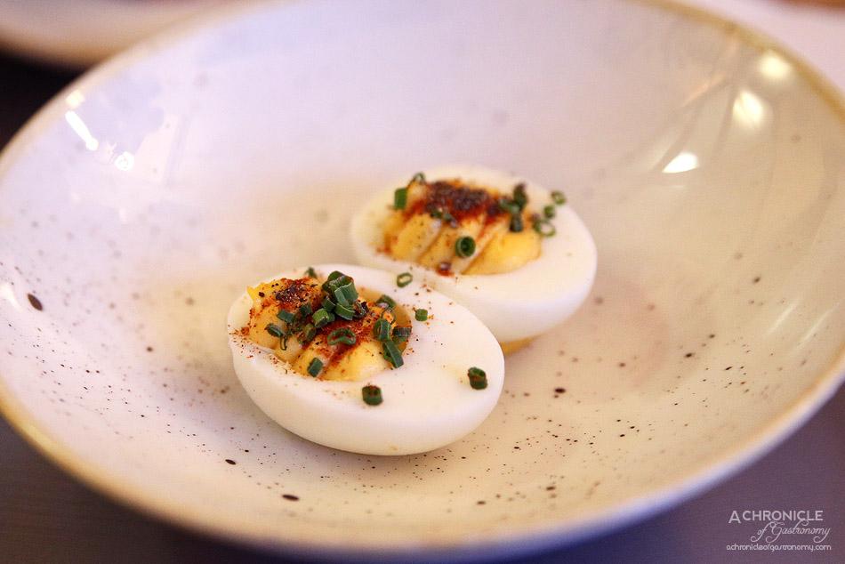 Fancy Hanks - Devilled Eggs