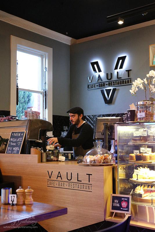 Vault Cafe Bar Restaurant