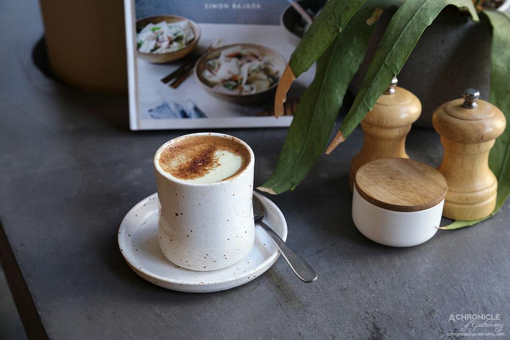 SMAK Food House - Matcha soy latte ($5.50)