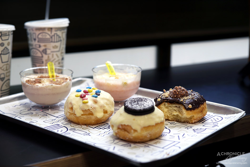 Royal Stacks - Oreo, M&M and Ferrero Rocher Doughnut