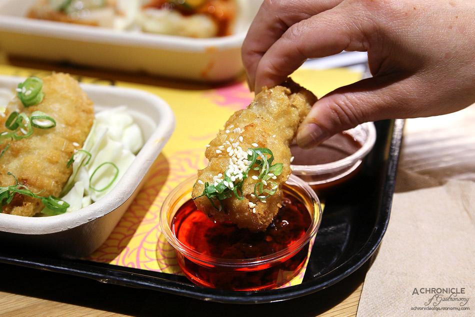 Sake Jr St Collins Lane - JFC chicken wings (5 for $11)