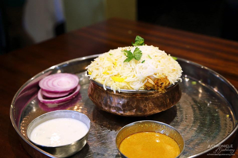 Dosa Hut CBD - Hyderabadi Chicken Dum Biryani ($11.95)