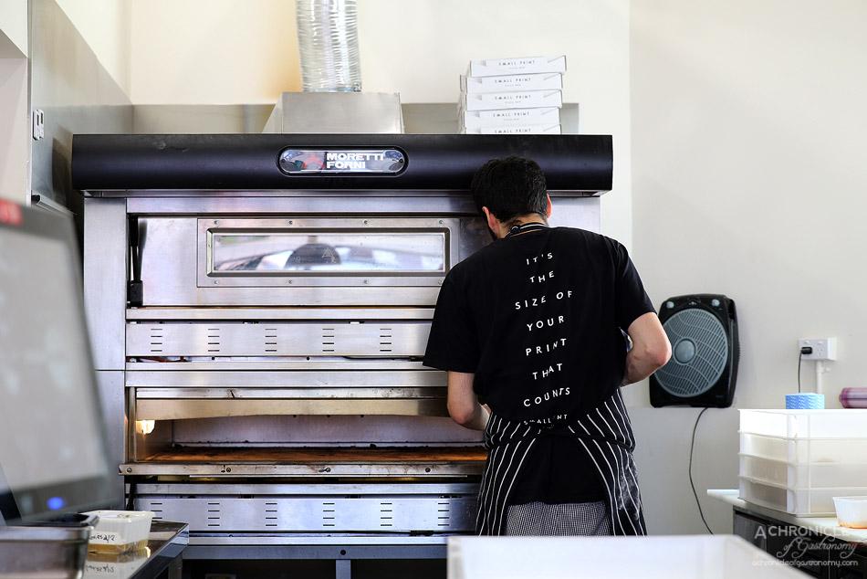 Small Print Pizza