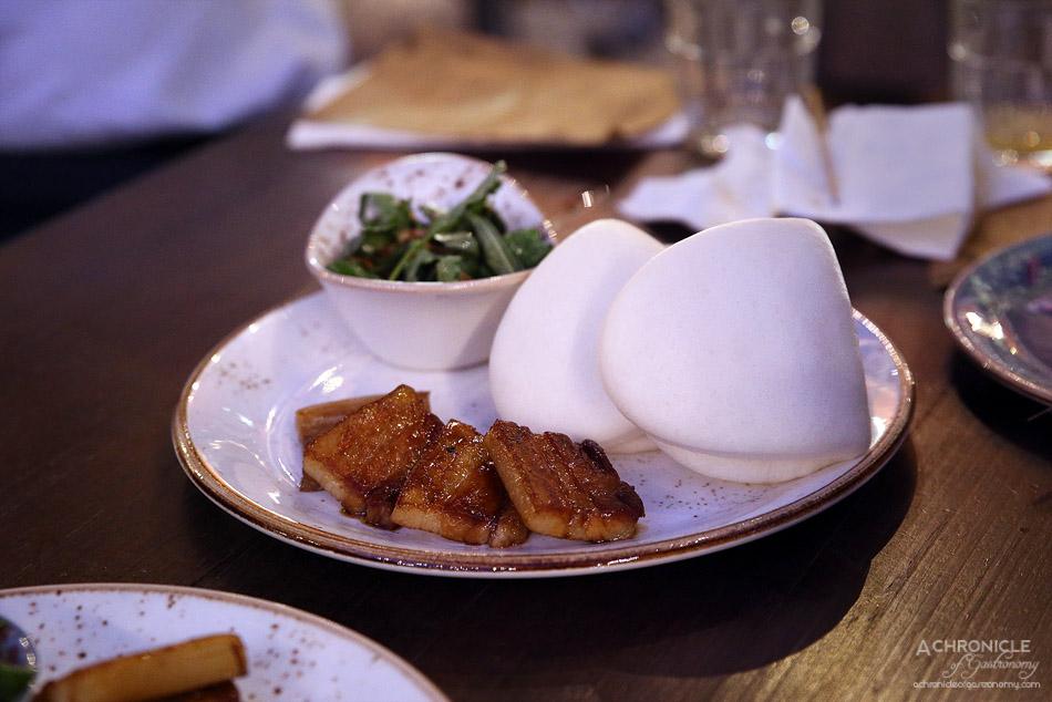 West of Kin - DIY pork belly bao