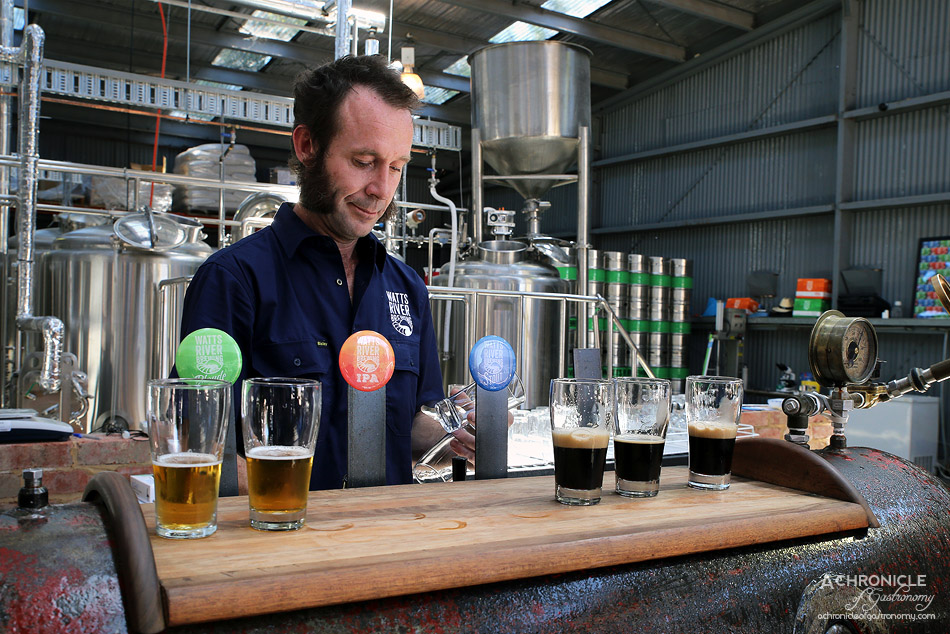 Yarra Valley Wine & Food Festival 2017 Preview - Watts River Brewing - IPA and Stout
