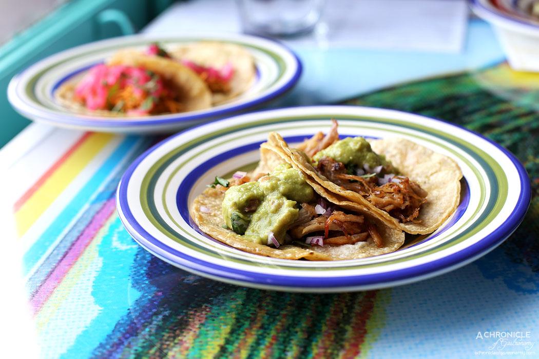 El Sabor by El Cielo - Carnitas - Michoacan style slow cooked pork belly w coriander and onion ($2 for $12)
