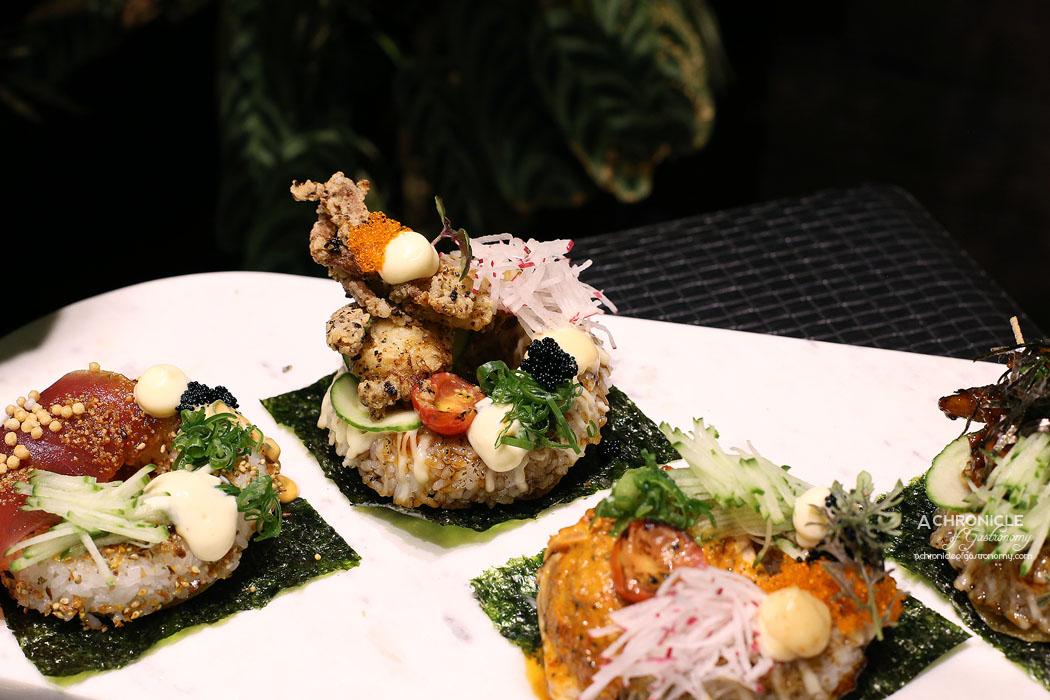 Sea Salt - Sushi Doughnuts - Tuna, Soft Shell Crab, Chicken | Sushi Doughnuts | Tuna | Soft Shell Crab | Chicken