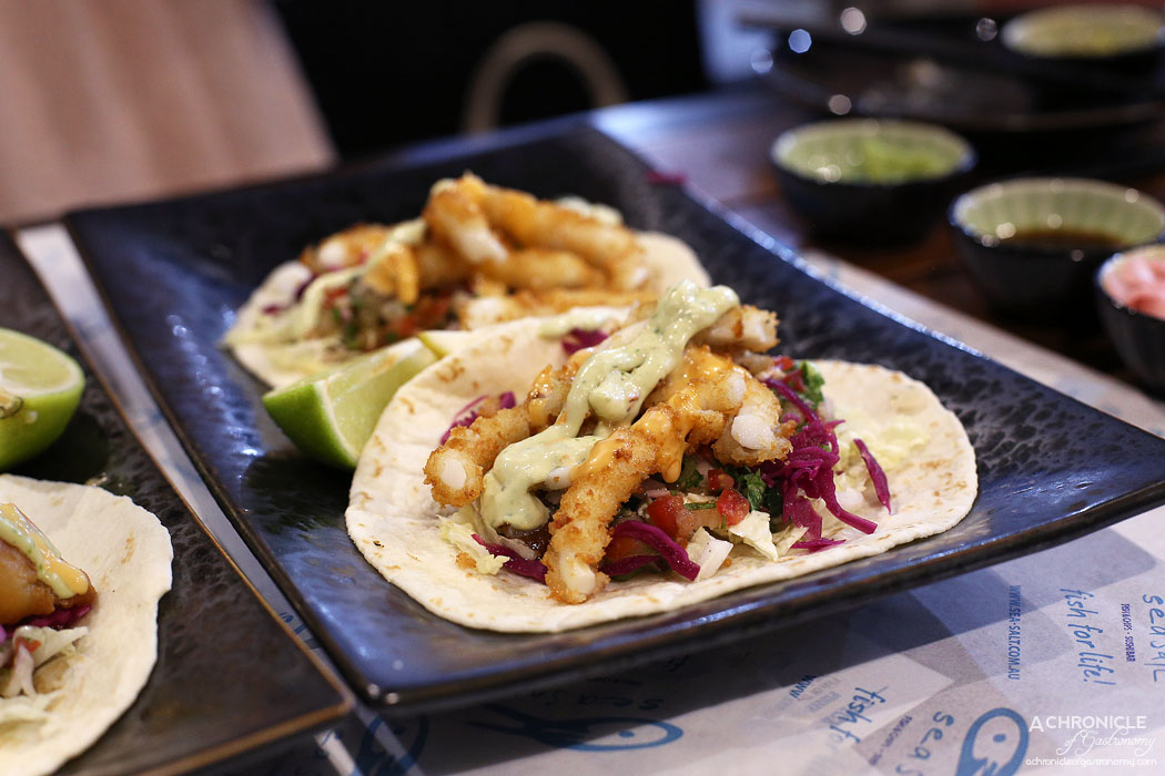 Sea Salt - Crumbed Calamari Taco