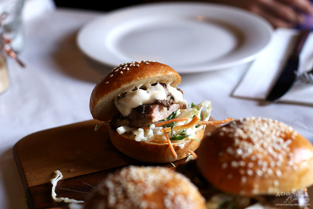 Watts Cooking - Jamaican jerk chicken sliders with a tangy carrot & cabbage slaw (2 for $17.50)