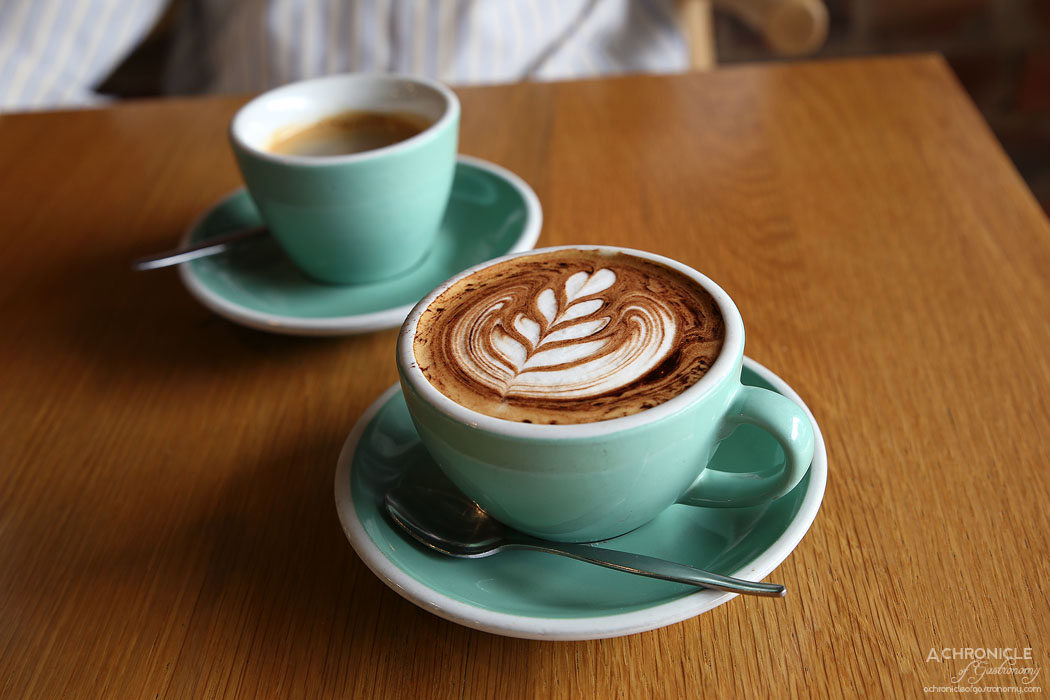 Prospect Espresso - Cappuccino ($4) and Long Black ($4)