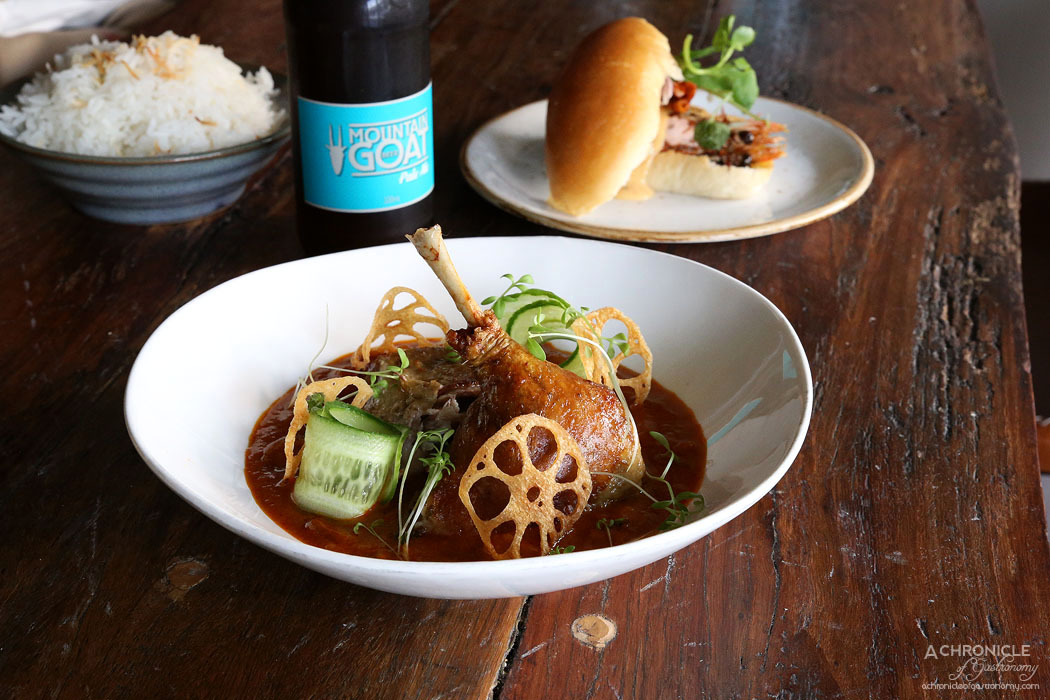 Amok - Cambodian duck curry