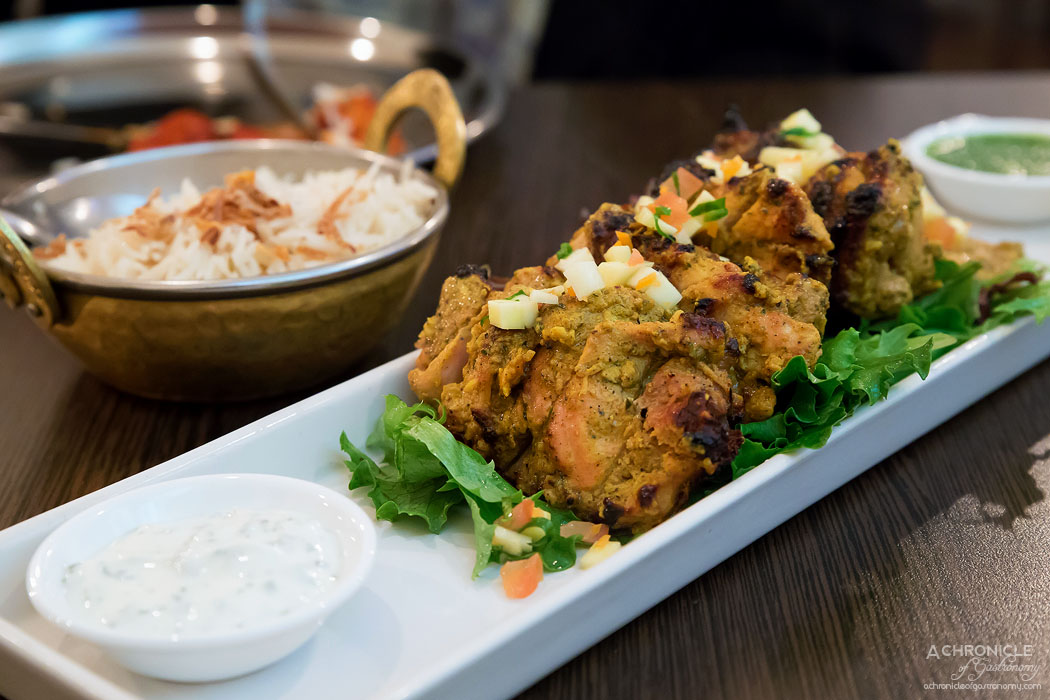 Horn Please - Tandoori Chicken - Horn Please specialty of marinated spiced, free range chicken from the tandoor ($25)