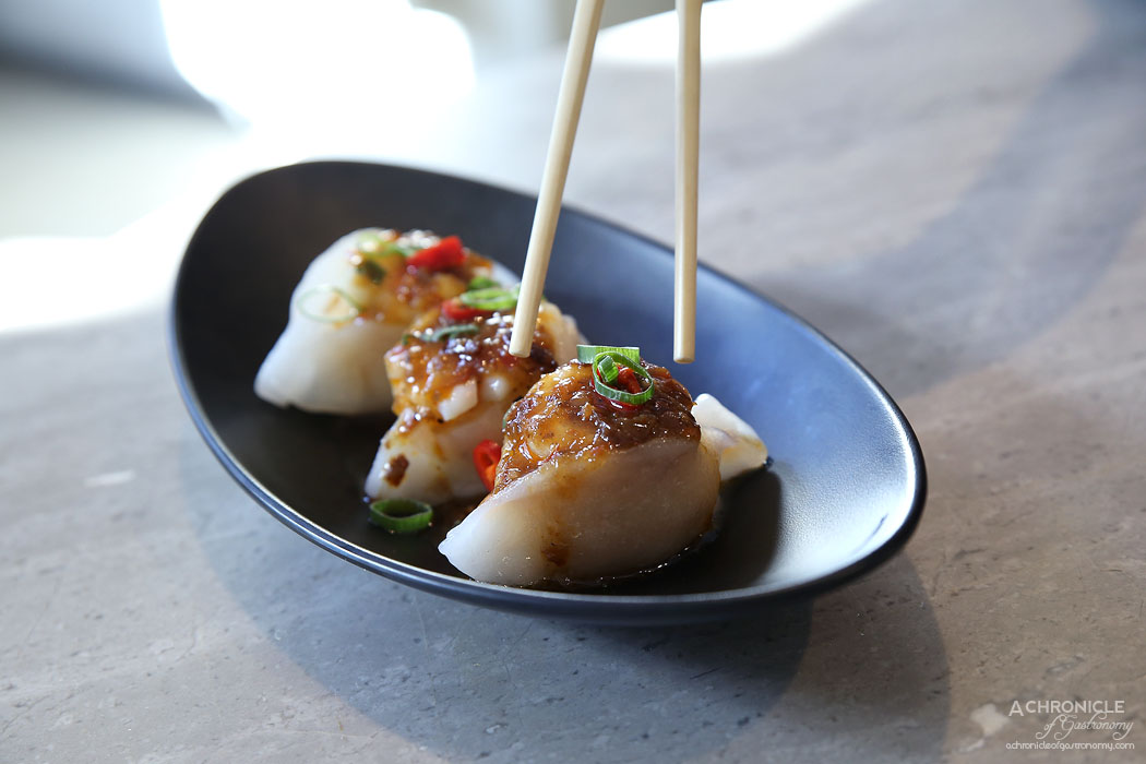 Oriental Teahouse - Dumplings w pork and prawn (3 for 11.80)