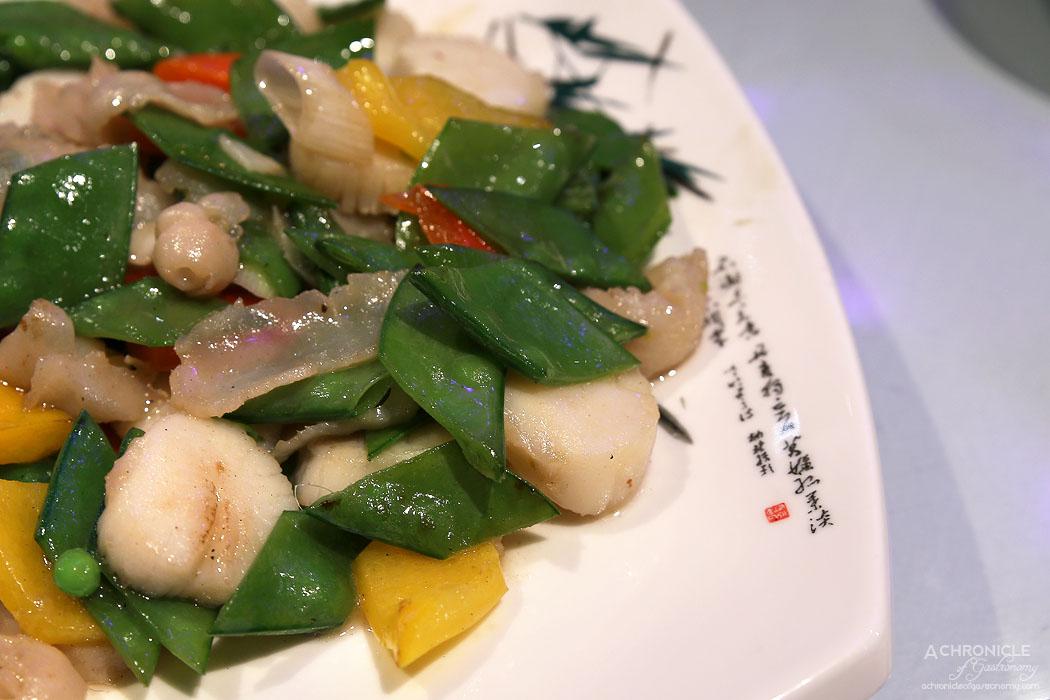 Secret Kitchen Dai Long Banquet - Sauteed Jade Scallop