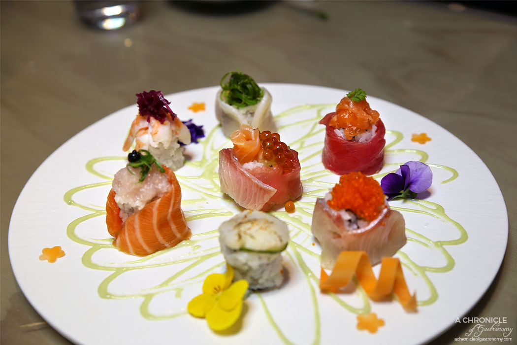 Aoki - Special sushi roll combo ($26)