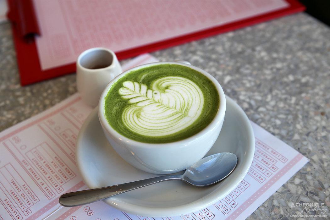 Northcote STN - Konomi Matcha Latte ($4)