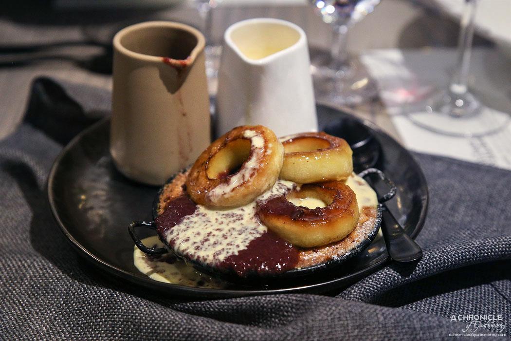 Wilson & Market Brasserie - Warm Bramley apple pie with cheddar ice cream ($12pp)