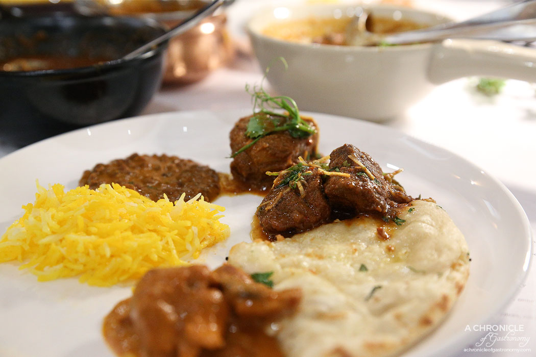 Atta - Beef Mircha - Tender beef, tempered mustard and sun dried chilli, onion and tomato curry