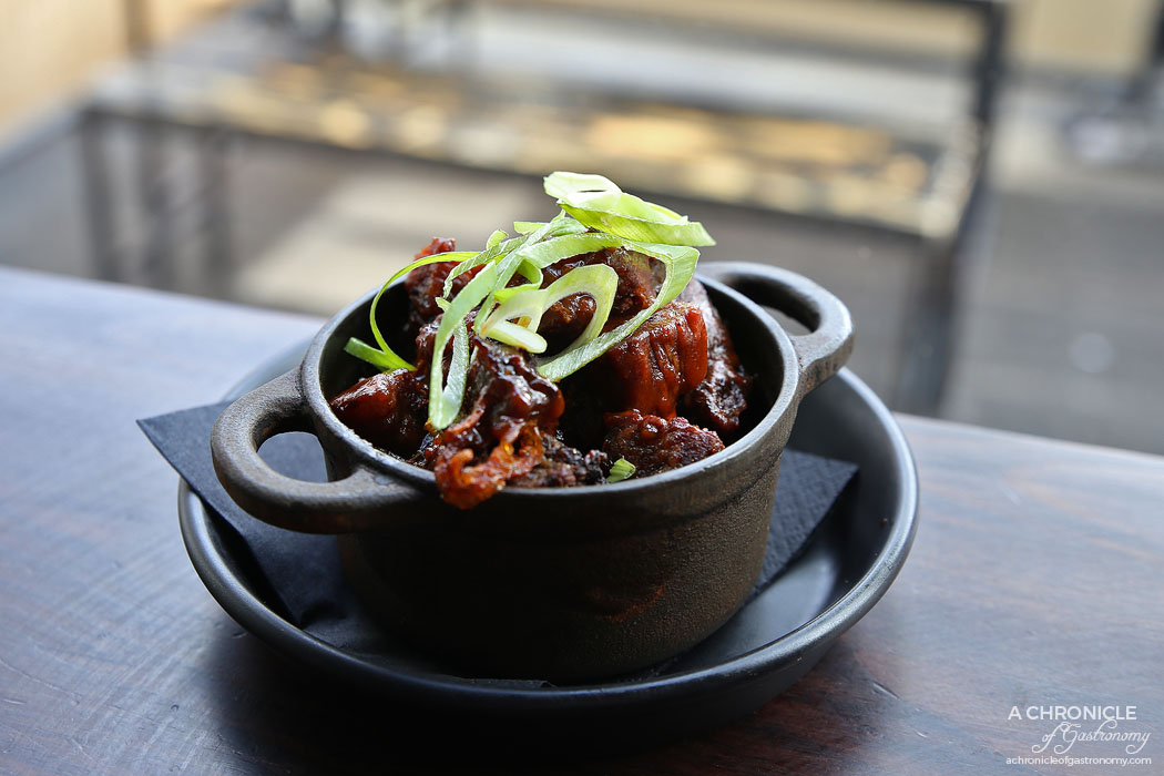 Meatmother - Burnt ends, fried shallots, horseradish ($14)