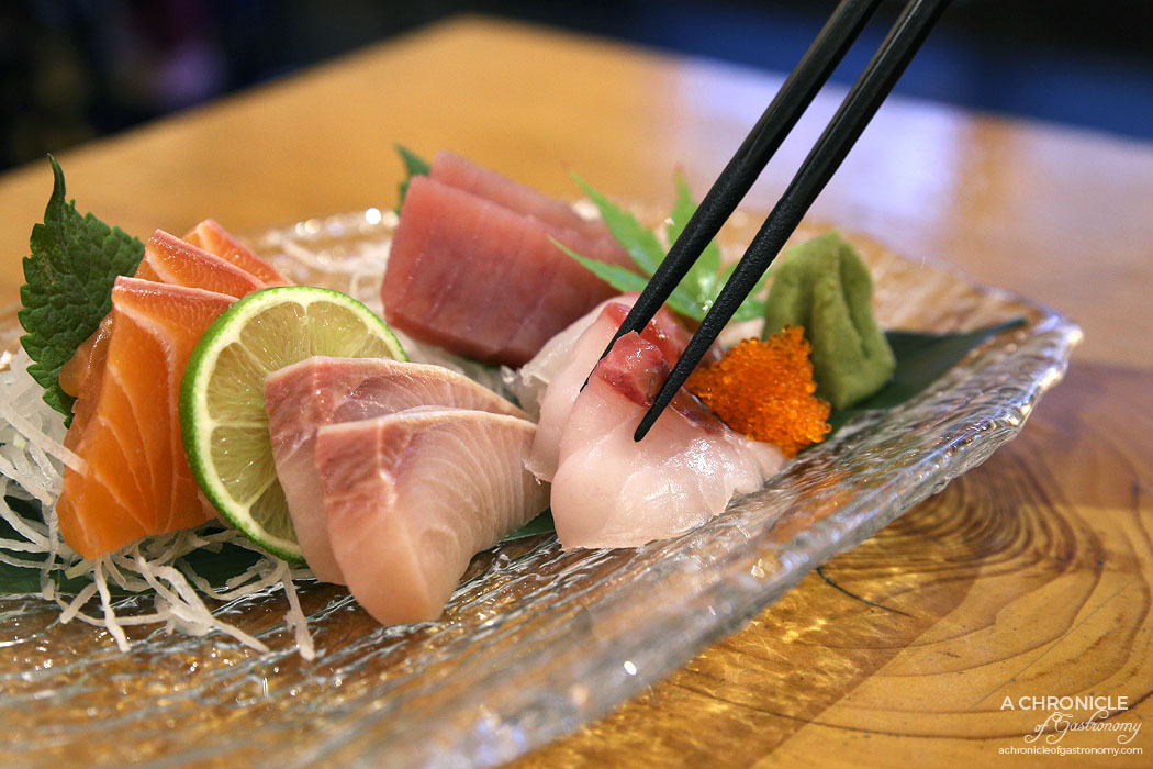 Fujitei (29) Sushi Moriawase - Tuna, salmon, hiramasa kingfish, sea bream