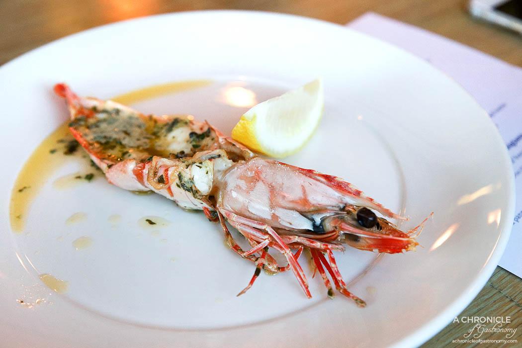 Pier Farm - Grilled wild caught Tiger prawns, herbed butter