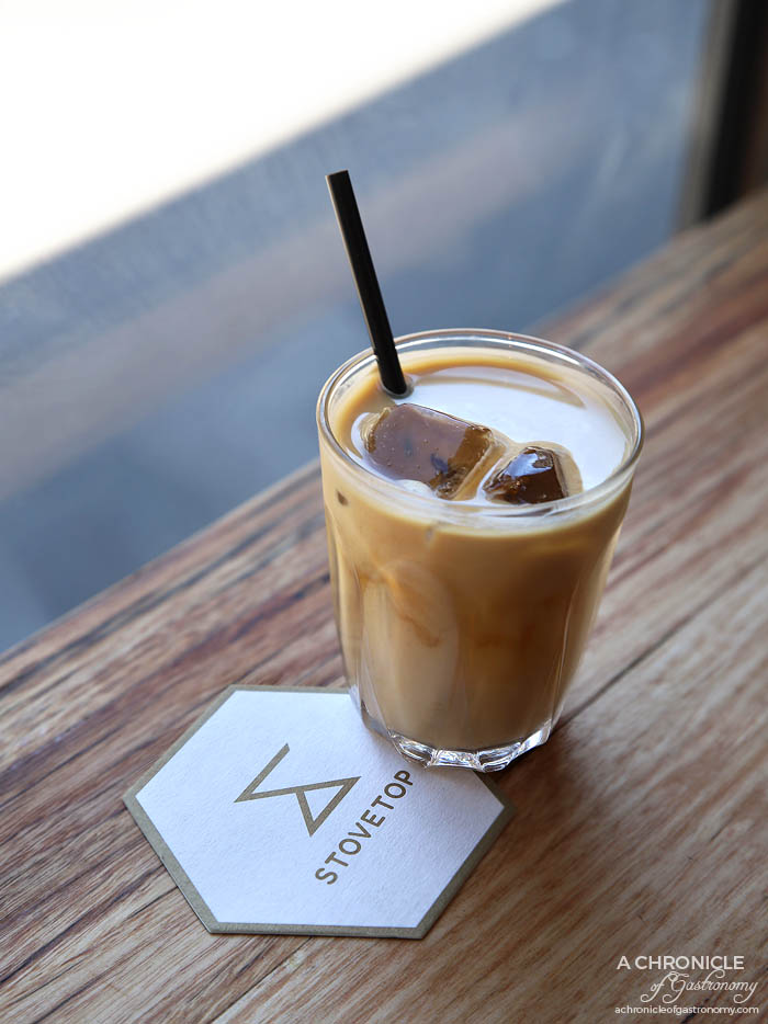 Stovetop - Iced latte