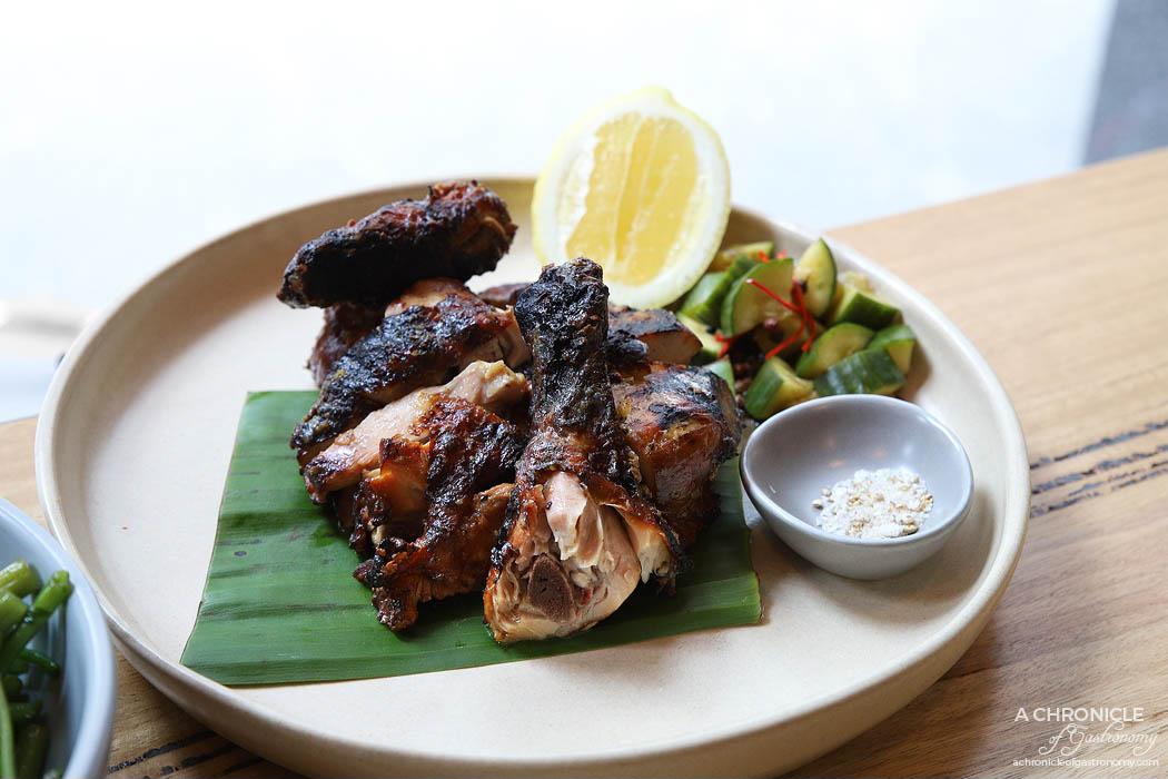 Annam - Coconut Roasted Milawa Chicken w salt and pepper, lemon cheek