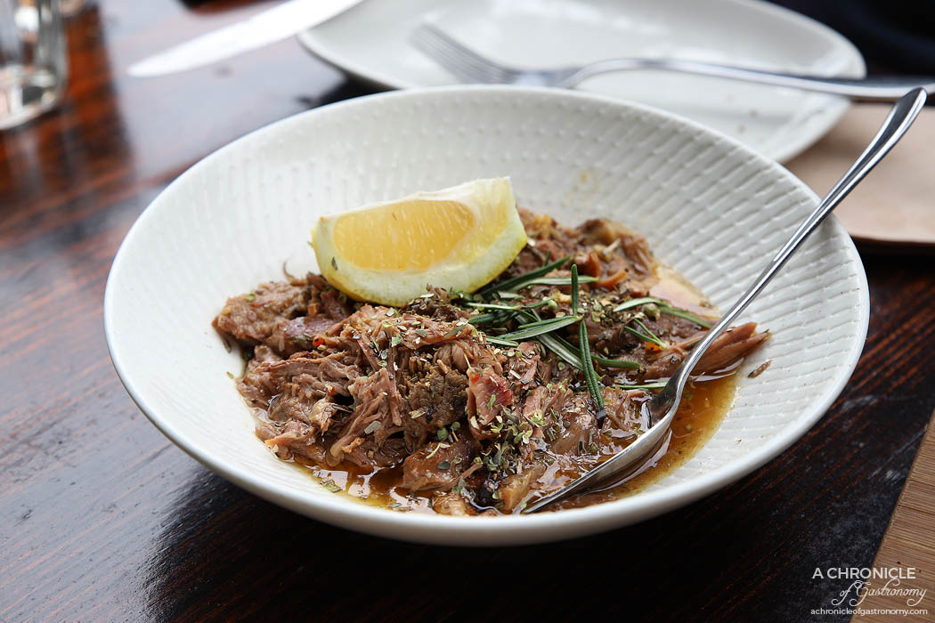 Bahari - Slow Roasted Lamb Shoulder w lemon, rosemary & garlic ($19.50)