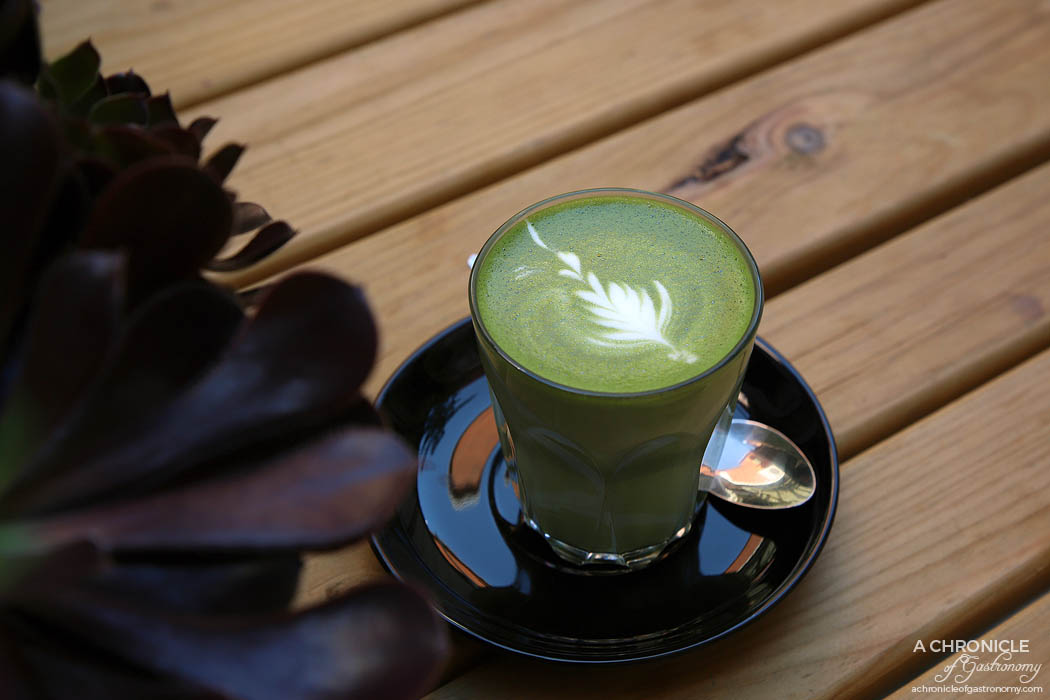 This Is Life - Matcha Latte ($5.50)