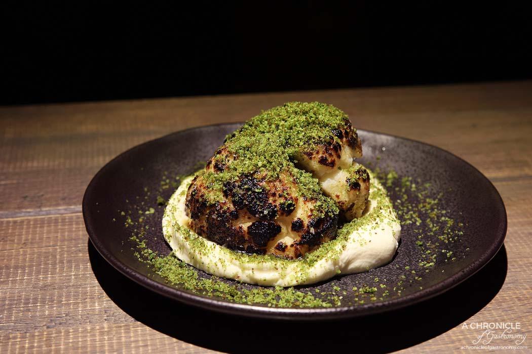 Osteria Ilaria - Baby cauliflower, quattro formaggi, gremolata ($16)