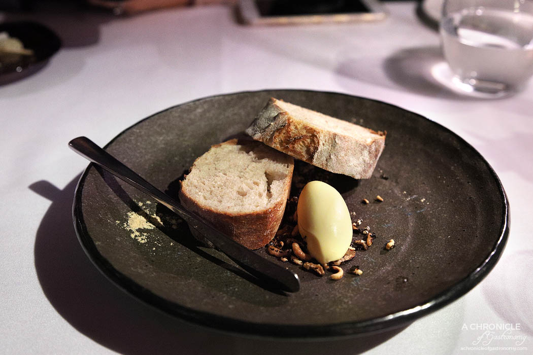 Steer Dining - Bread with smoked butter