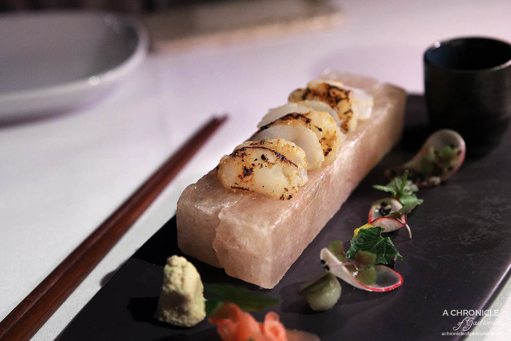 Steer Dining - Hervey Bay scallop tataki ($20)