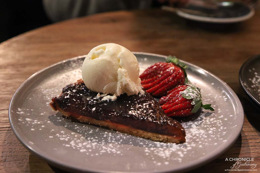 Cirelli and Co - Crostata of plums and mixed fruit with ice cream ($12)