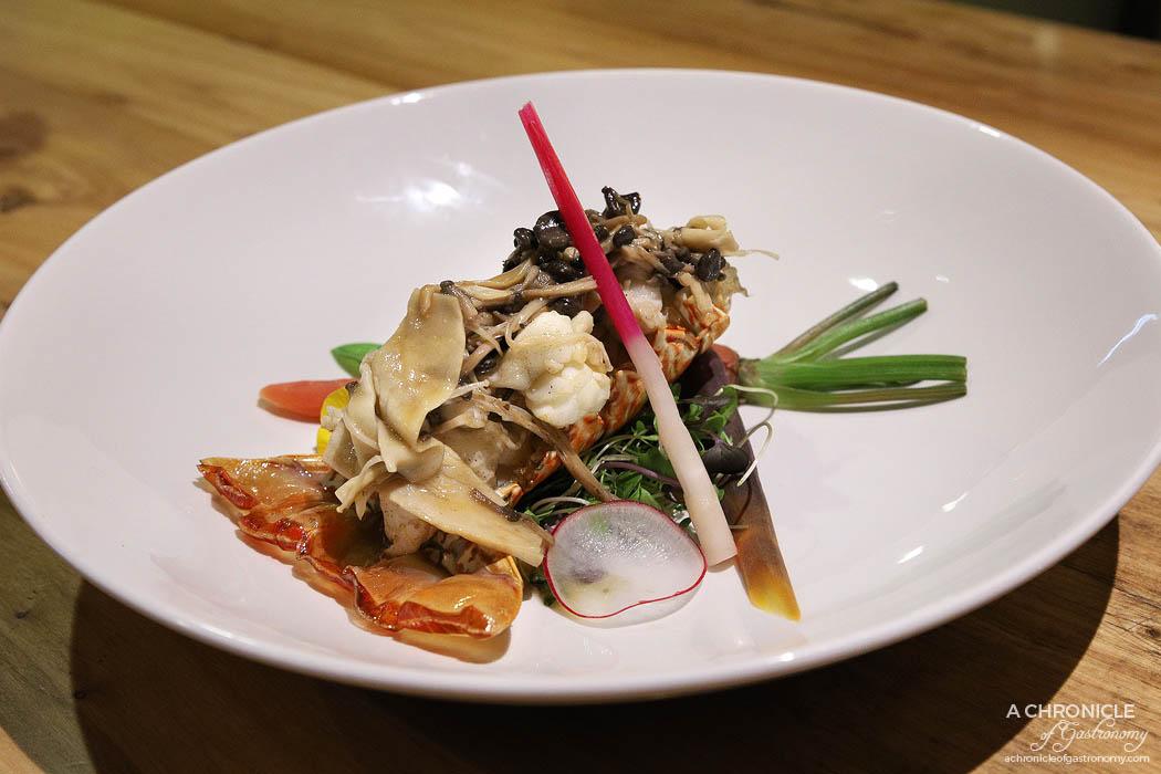 Miss Kasumi - Miso Lobster - Lobster tail, Mushroom mix, Ginger root, Truffle miso ($46)
