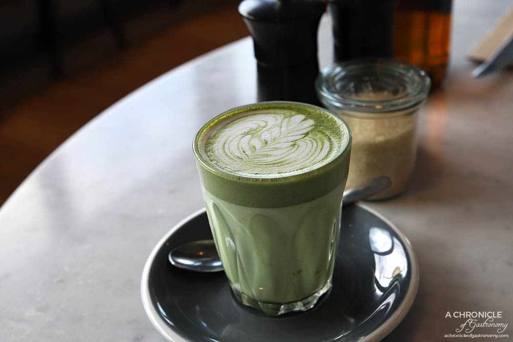 The Penny Drop - Konomi Matcha Latte ($5)