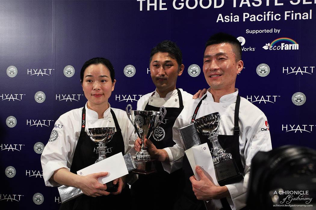 Hyatt The Good Taste Series ASPAC Finals 2018 Winners