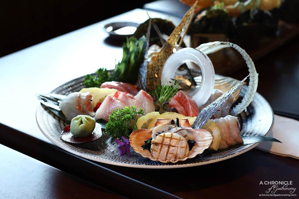 Machi - Sashimi platter